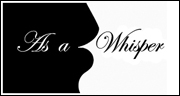 As a Whisper Wedding Planner and Flowers Logo - designed by Brett Davis
